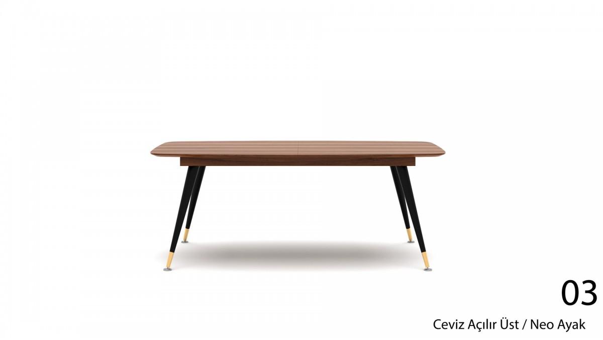 Trento Açılır Masa 180 cm